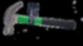 iQuip 2oz non-slip precision balanced Claw Hammer