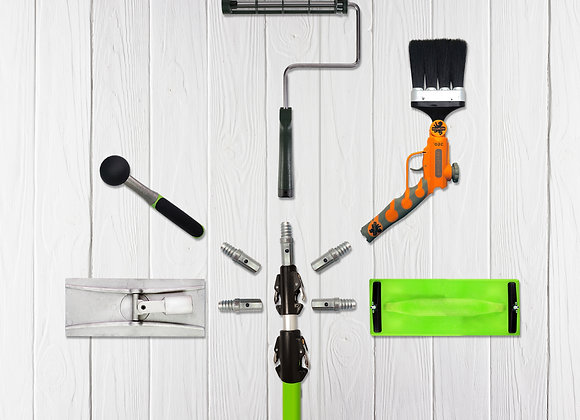 iQuip Fiberglass Double-Lock Pole