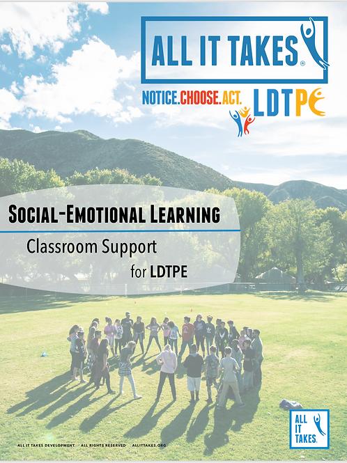 Classroom Support for LDTPE
