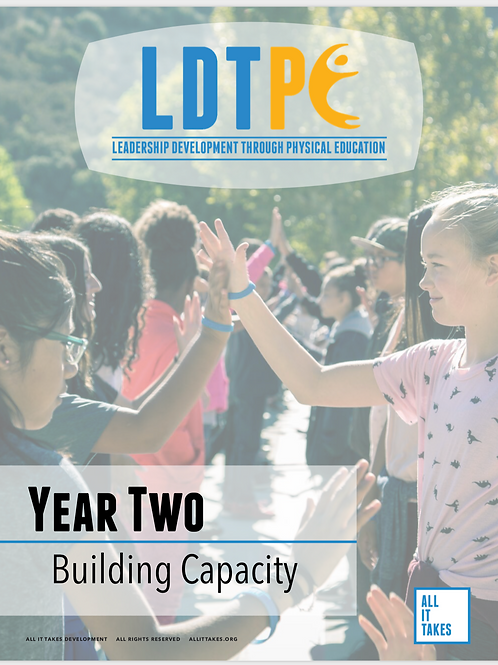 LDTPE Year Two
