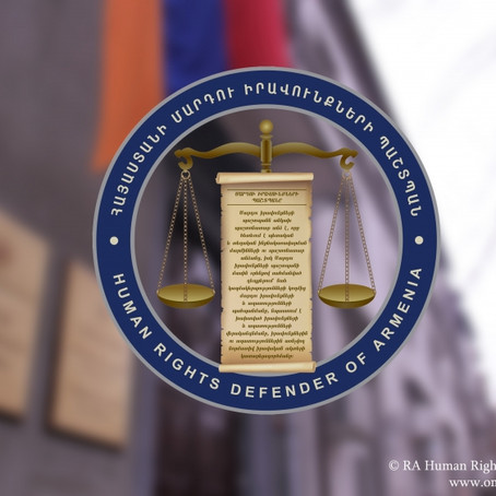 Hyestart urges the Armenian government to protect the Ombudman's office