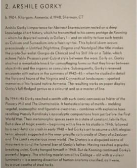 Une expo londonienne extirpe l'expérience génocidaire du passé de Gorky