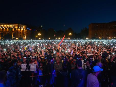 Appel de Nikol Pachinian à la désobéissance civile en Arménie