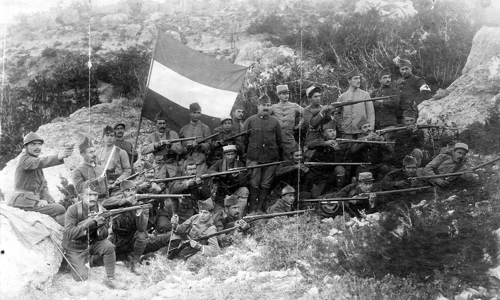 Volontaires arméniens de Tomarza dans la légion d'Orient