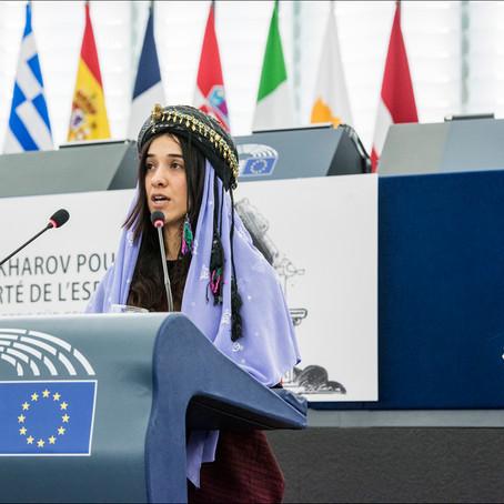 Le Prix Sakharov 2016 remis à deux Yézidies