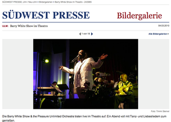 Barry White at the Theatro