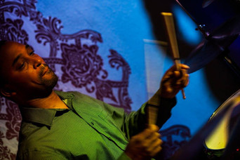 James Simpson on Drums