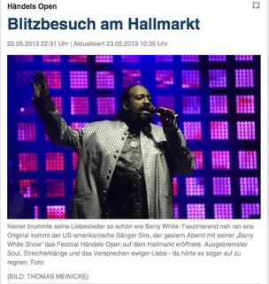 Flash visit at the Hallmarkt