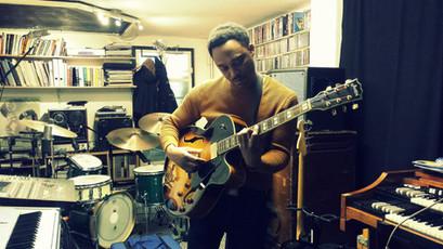 James Simpson in the Studio