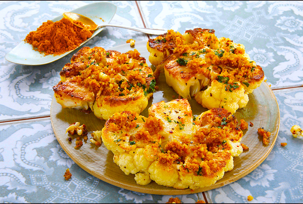 011_Cauliflower with Curried Bread Crumb