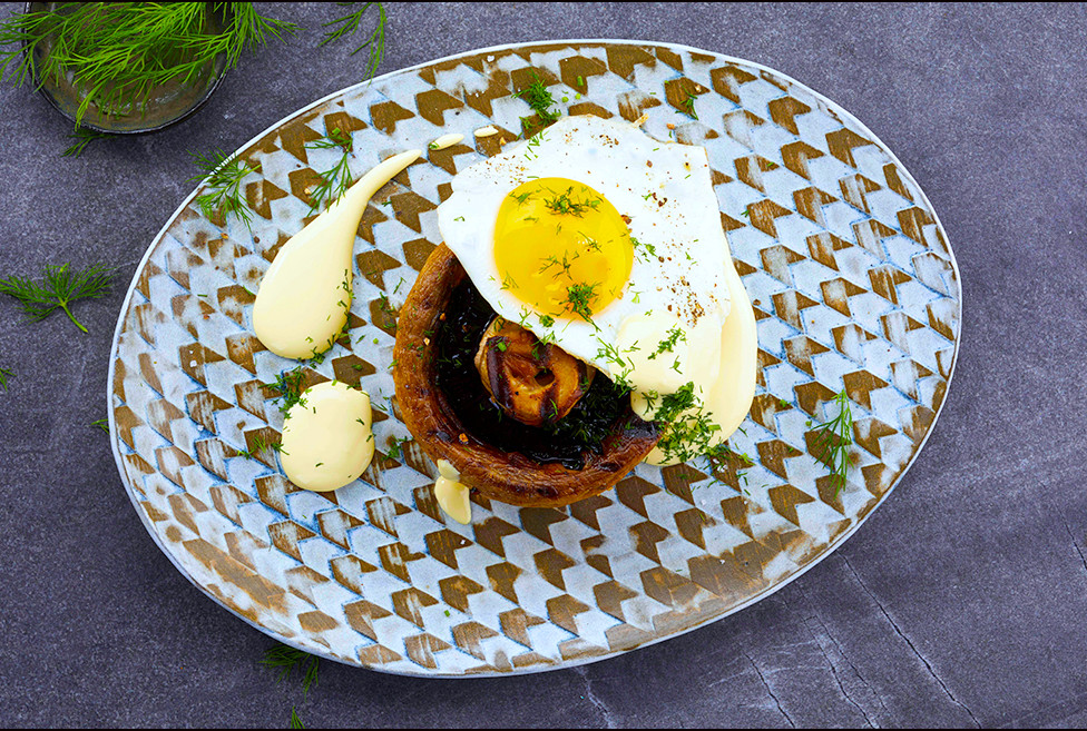 032_Portabello Mushrooms with Fried Eggs