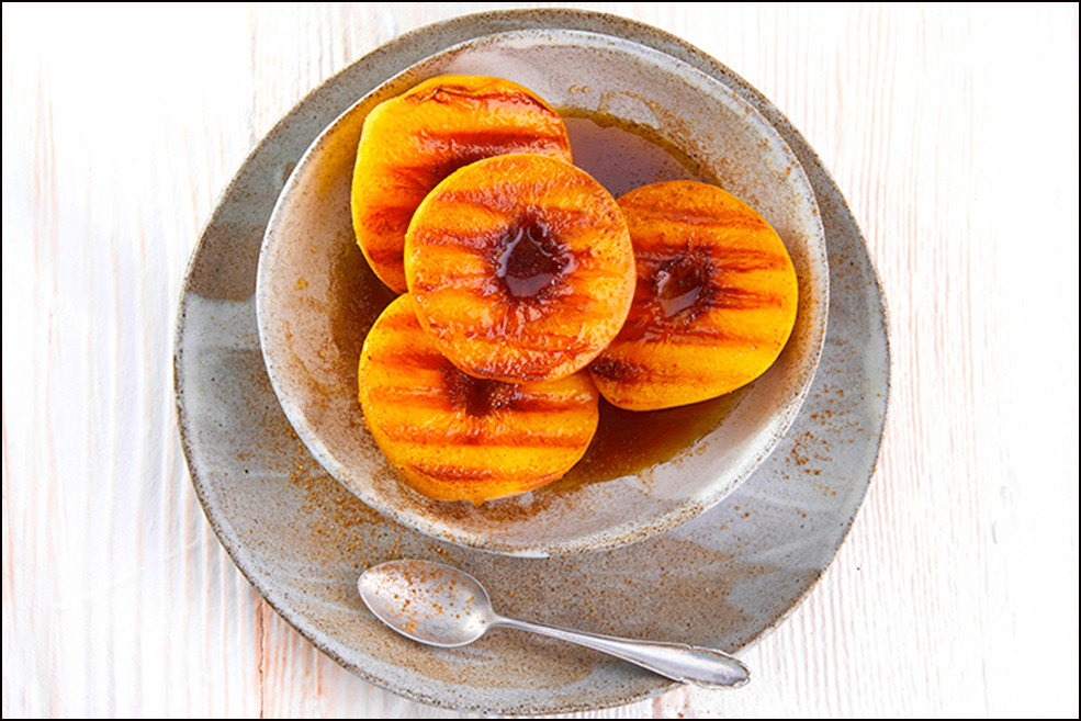 039_Grilled Peaches with Rum2859 copy co