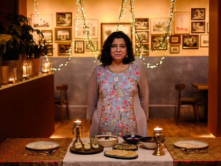 Darjeeling Express launch seven course dine-at-home menu