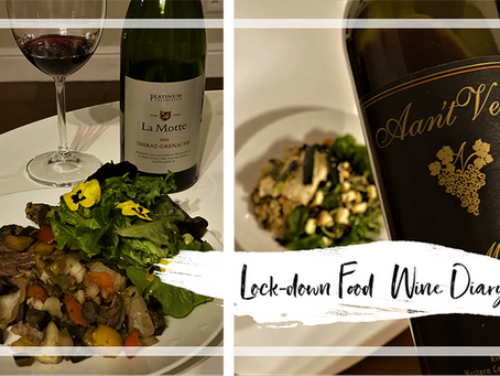 WineTots Self-isolation Food & Wine Pairing Diary