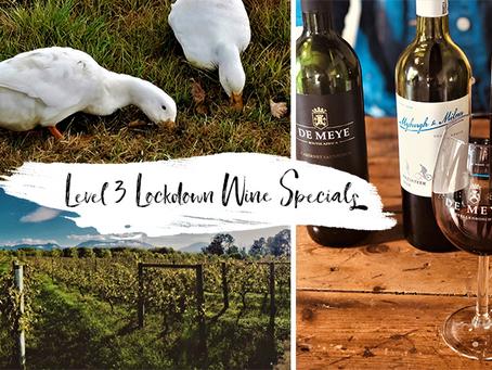 Latest SA Wine Lockdown Specials
