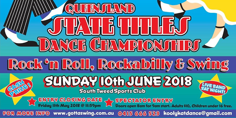 Queensland State Titles Dance Championships