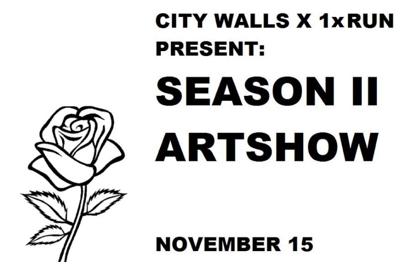 What: The City of Detroit's City Walls program and 1xRun present the Season II Group Exhibition in celebration of the contributions the artists have made to the City of Detroit over the last 18 months.  Who: Dabls, Jesse Kassel, Ijania Cortez, Phil Simpson, Lindy Shewbridge, Detroit Sign Painters, Jake Dwyer, Sheefy McFly, BakPak Durdan, Perez, Allison Scout and more  Where: Norwest Gallery, 19556 grand river Detroit MI 48223  When: Opening Nov.15, 2019 6pm-9pm Exhibit running till Nov. 25 2019.
