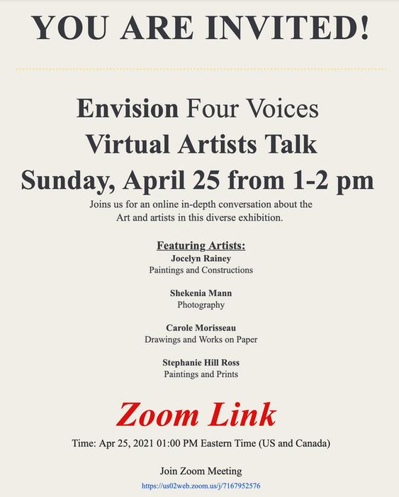 Envision Four Voice Artists Talk