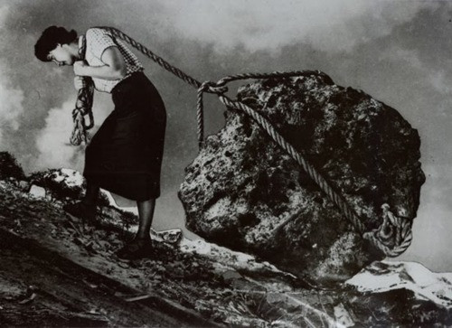 Sisyphus by Beth Scupham