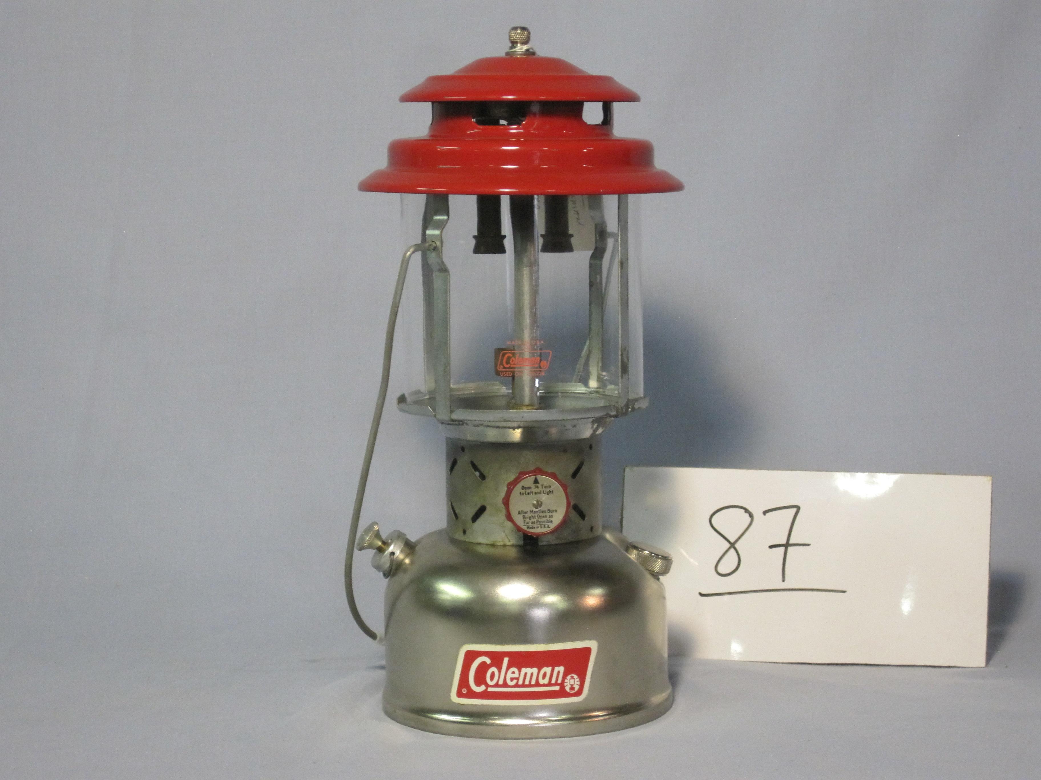 Coleman custom 220 kerosene