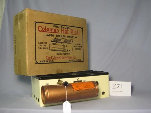 Coleman Hot Plate model 391A