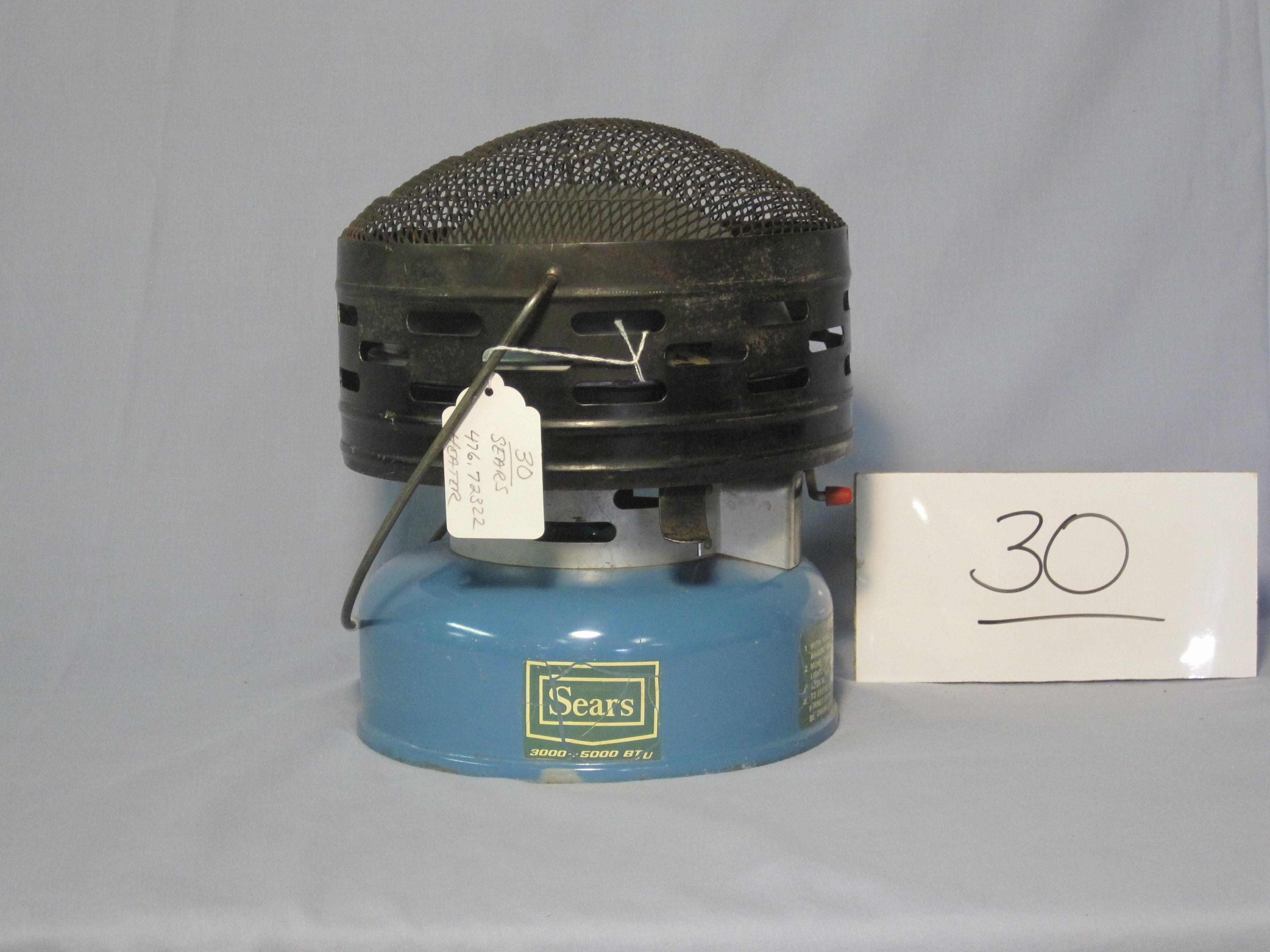 Coleman Sears catalytic heater