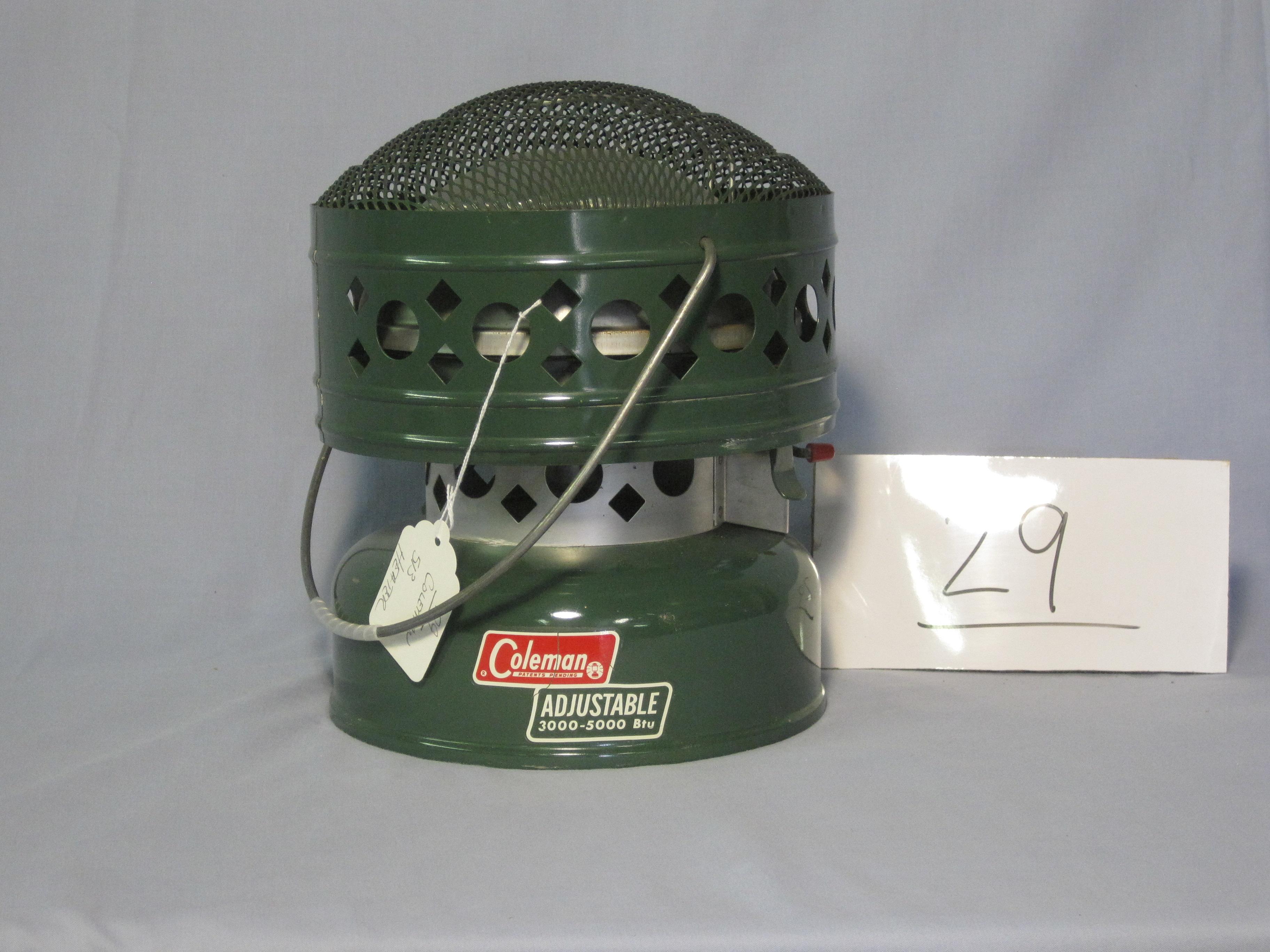 Coleman catalytic heater 513
