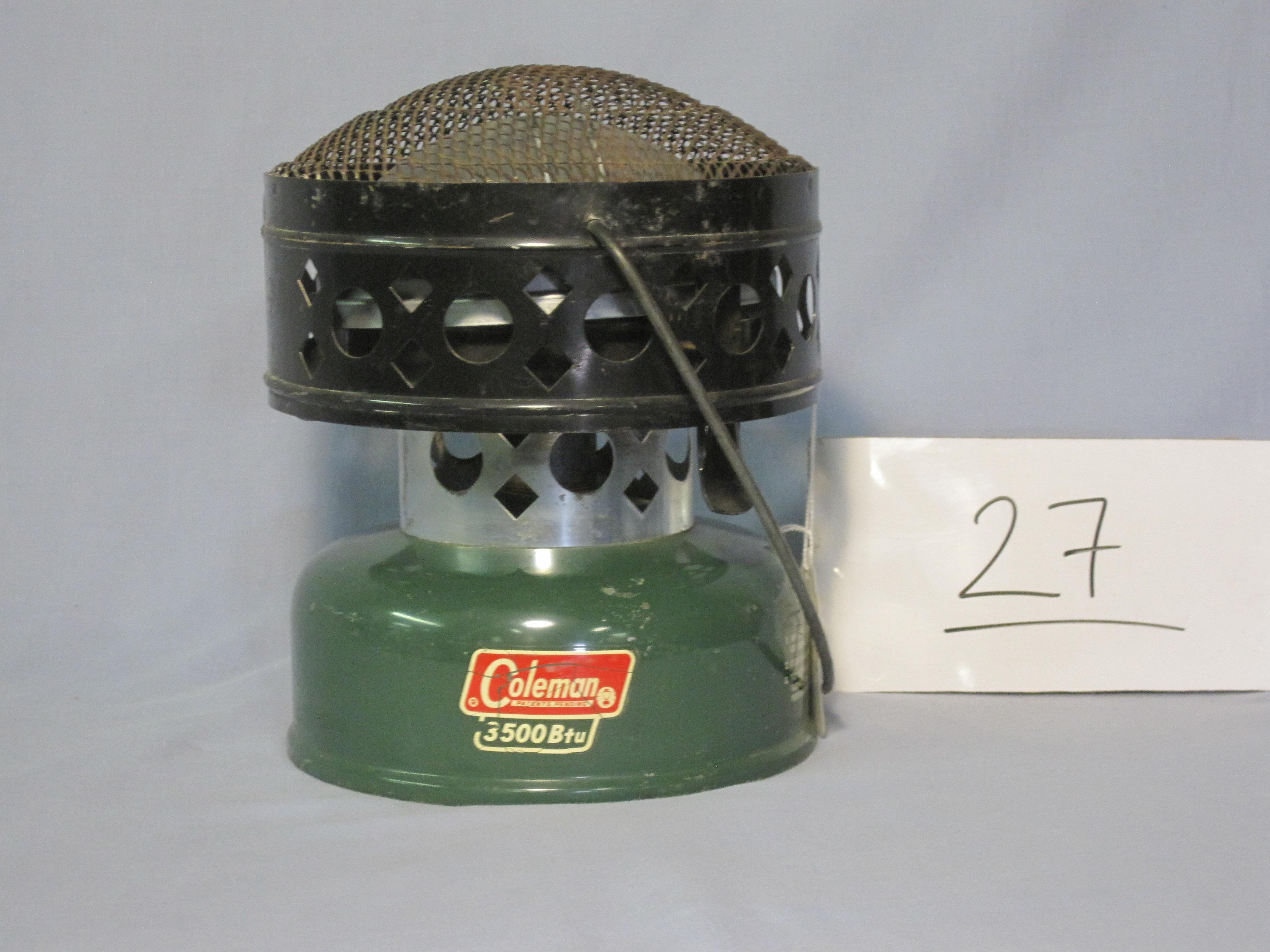 Coleman catalytic heater 512