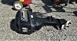 Coleman outboard motor