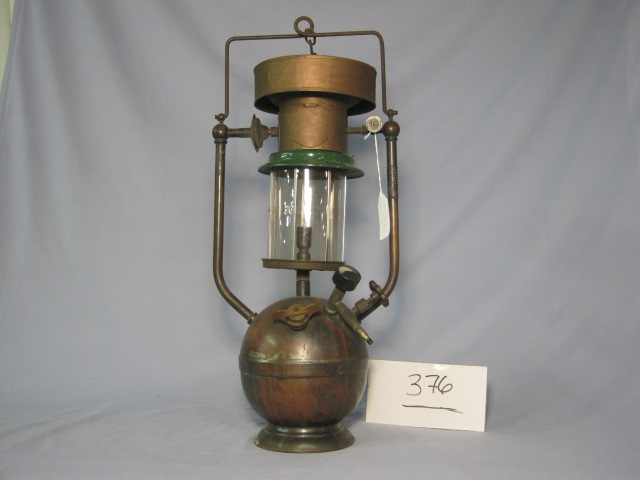 The Bolte & Weyer Co. No 2 arc lamp