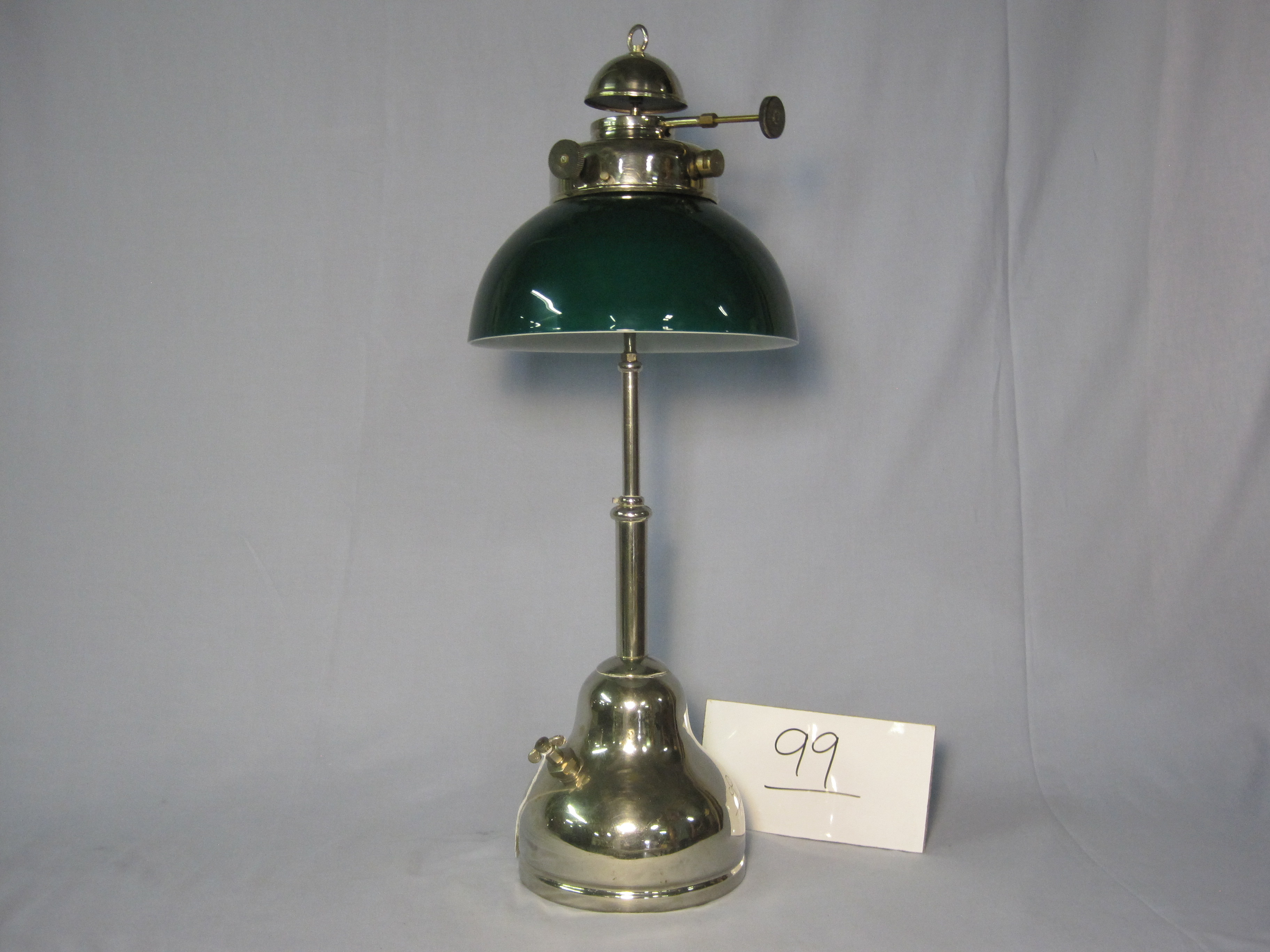 Coleman Model R Reading lamp