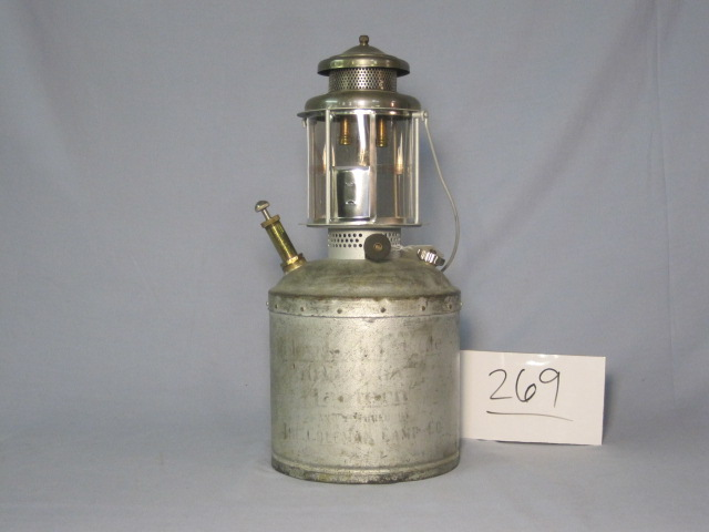 Coleman E20 jumbo, integral pump