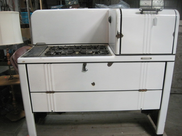 New Perfection range and oven