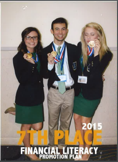 2015 7th Place-Financial Literacy Promo