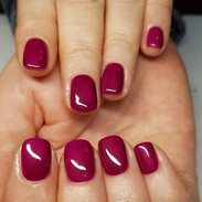 Russian Manicure by Kasia, stunning colo