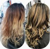 Colour correction by Monika #haircoloris
