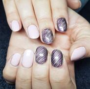 Metallic Nails by Kasia @optionzbeauty #