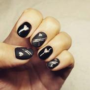 Gel nails by Kaisa @optionzbeauty  #theg