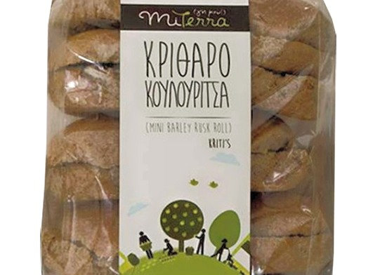 Mini Barley Rusk Rolls from Crete (600g)