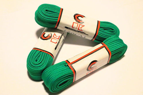 Dark Green Laces (2 Pairs)