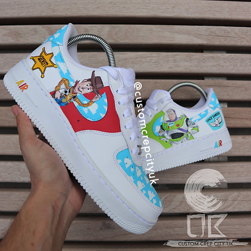 Custom Nike Air Force 1 Low (Toy Story)