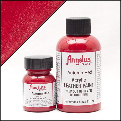Angelus Leather Paint - Autumn Red