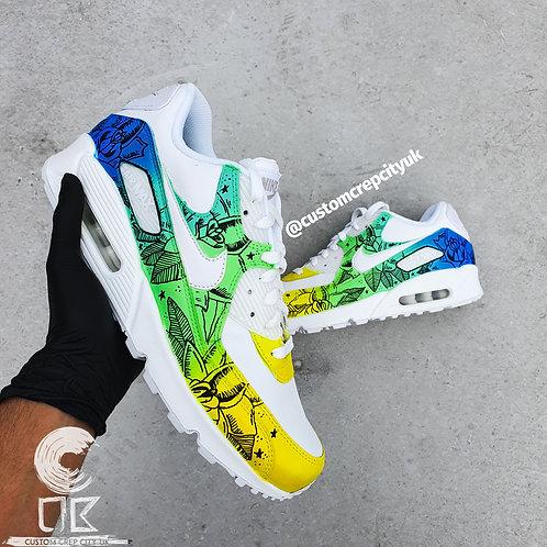 Custom Nike Air Max 90 (Jungle Fever)