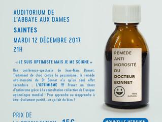 Consultation d'optimologie à Saintes : plus de 250 patients traités  !