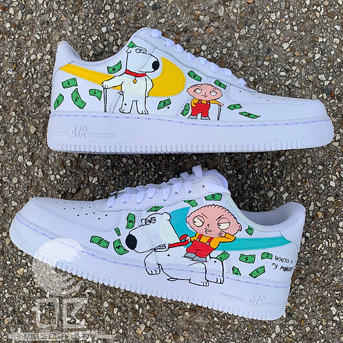 Custom Nike Air Force 1 Low (Family Guy)
