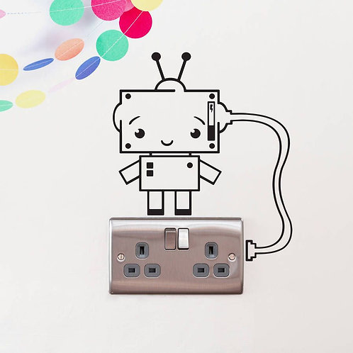 Electricity Custom Decal, Wall Switch Sticker, Wall Plug Decal
