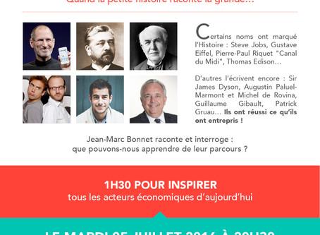 """""""Histoires d'entrepreneurs"""" le 5 juillet à Saintes"""