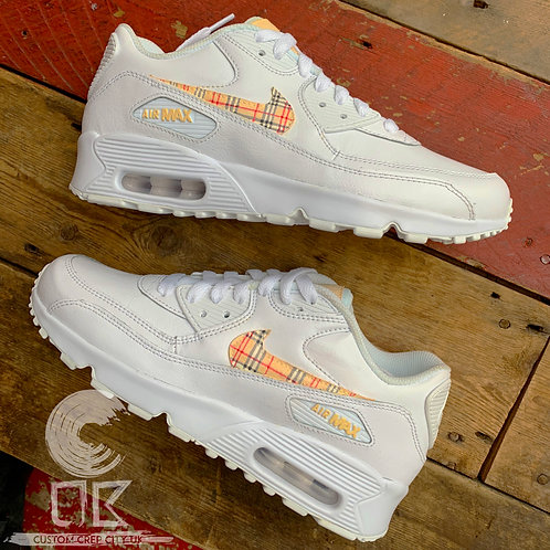 Custom Nike Air Max 90 (Pleated Pattern)
