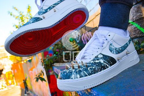 Custom Nike Air Force 1 Low (Spiked)