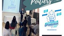 Distribution d'optimisme chez les DCF de Poitiers